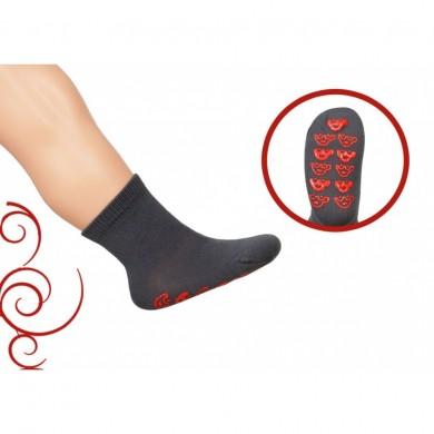 Чорапи едноцветни против хлъзгане Rewon 102002