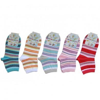 Чорапи(цветни на райе) Rewon 138013
