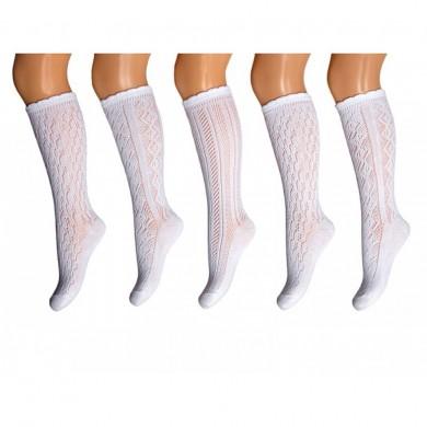 Чорапи памук 3/4 ажур с отвори Rewon 141002