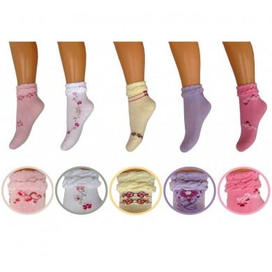 Чорапи памук с декорация 143002
