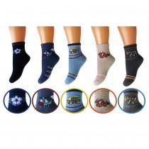 Къси памучни чорапи